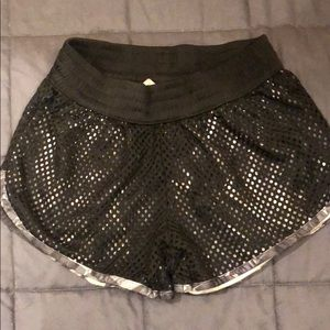 Champion XS mesh shorts.